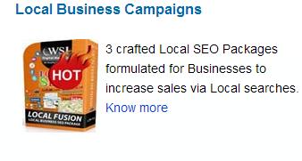 Local Business Campaigns